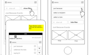 High fidelity wireframing for mobile optimization