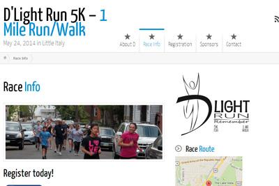 dlight 5k run or walk